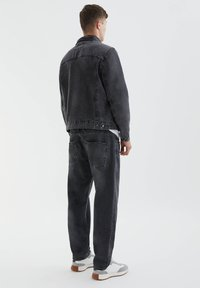 PULL&BEAR - Denim jacket - mottled dark grey - 2