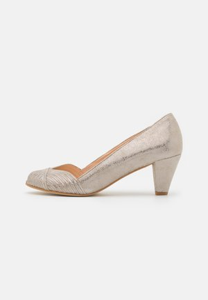 DEPOIS - Peep toes - taupe