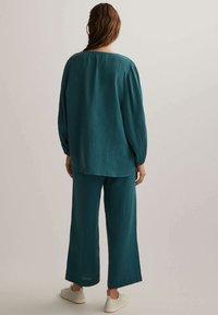 OYSHO - Pantalon classique - dark blue - 2