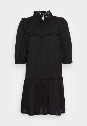 MARIA DRESS - Jersey dress - black