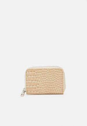 WALLET ZIPPER CROCO - Wallet - light beige