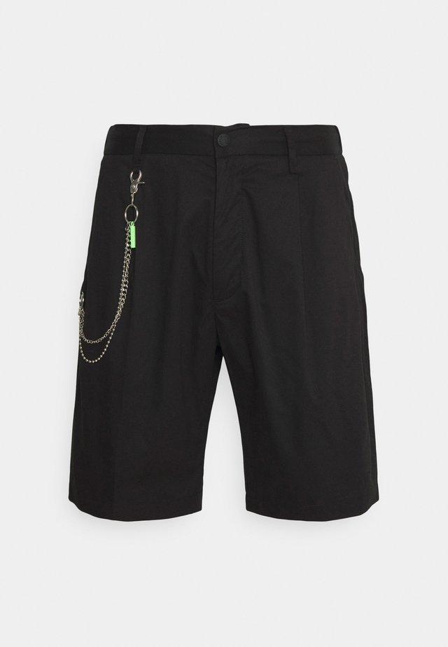 COMFORT FIT - Shorts - nero
