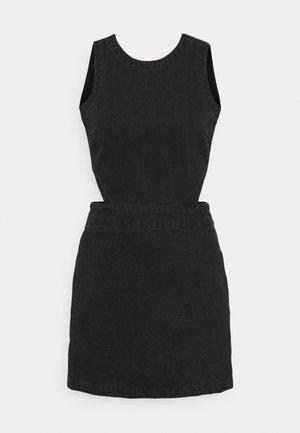 LILAH - Vestito di jeans - washed black