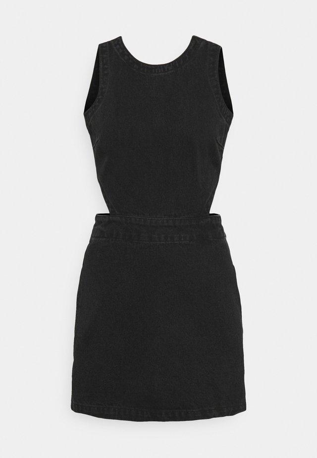 LILAH - Denimové šaty - washed black