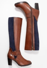 Caprice - Vysoká obuv - cognac - 3