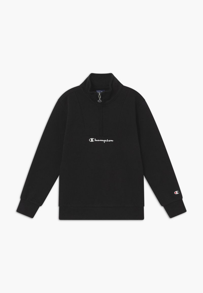 Champion - LEGACY AMERICAN CLASSICS HALF ZIP - Sweater - black