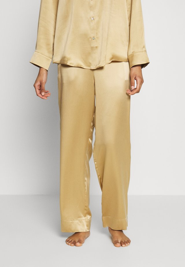 THE LONDON BOTTOM - Bas de pyjama - antique gold