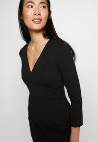 DKNY - EMPIRE WAIST SHEATH - Shift dress - black - 5