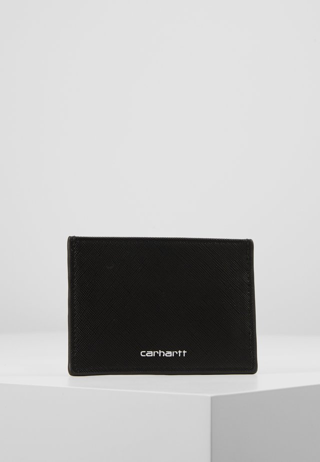 COATED CARD HOLDER - Plånbok - black