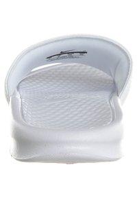 Nike Sportswear - BENASSI JDI - Pool slides - whire/varsity royal-white - 1