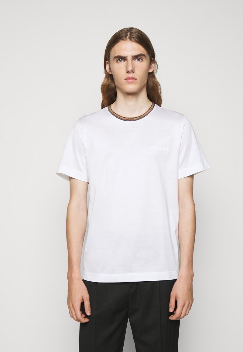 Missoni - SHORT SLEEVE  - T-shirt basic - white
