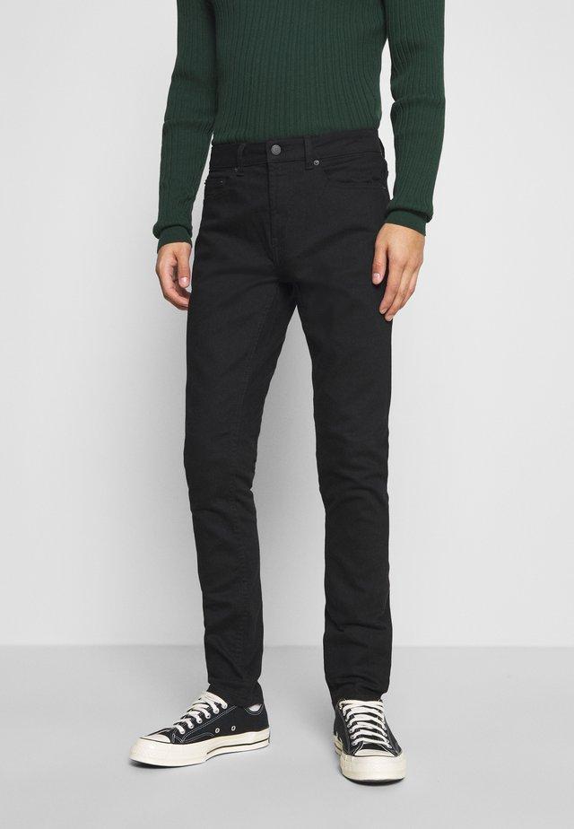 TWILL - Skinny džíny - black