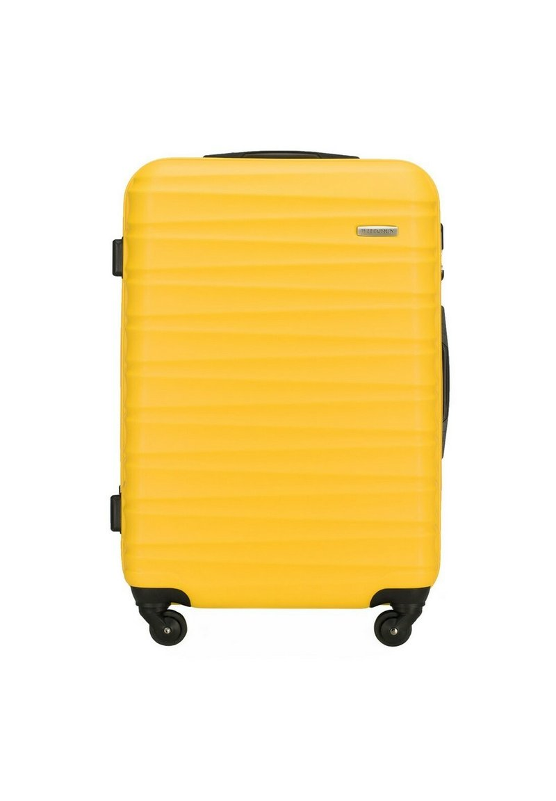 Wittchen - GROOVE LINE - Wheeled suitcase - gelb