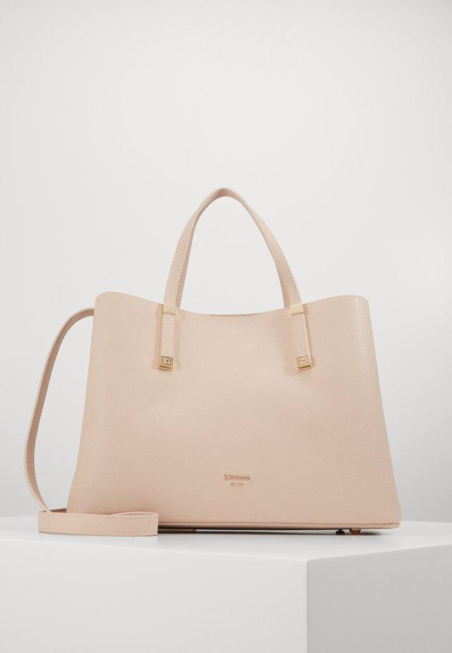 DORRIE - Handbag - nude plain
