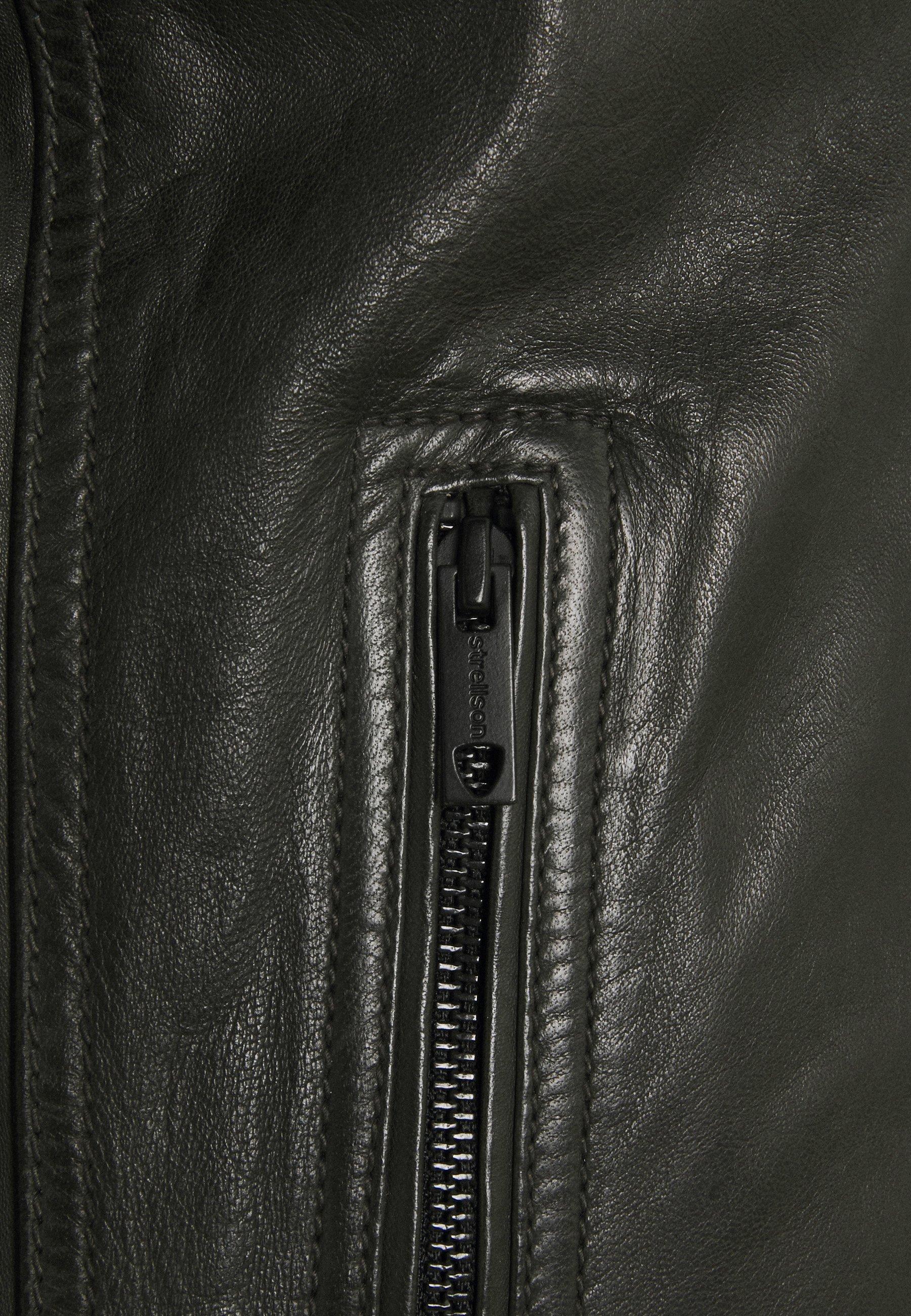 Men OSCO - Leather jacket