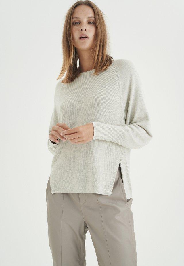 Jersey de punto - ash grey melange