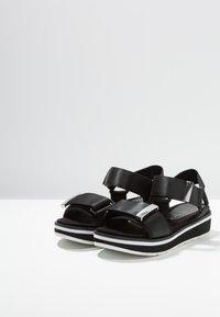Marco Tozzi - Platform sandals - black - 4