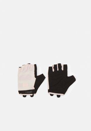 EXERCISE GLOVE - Kortfingerhandsker - pink/black