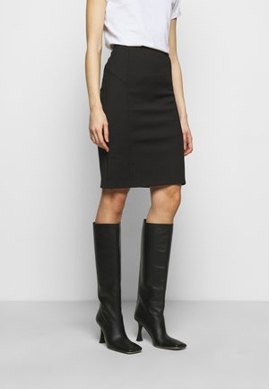 GONNA SKIRT - Pencil skirt - nero