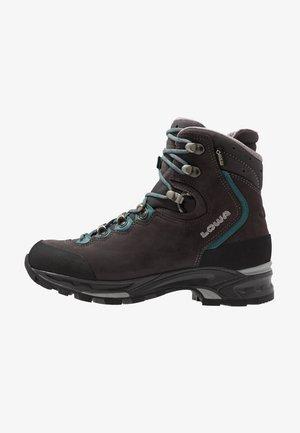 MAURIA GTX - Hiking shoes - anthrazit/petrol