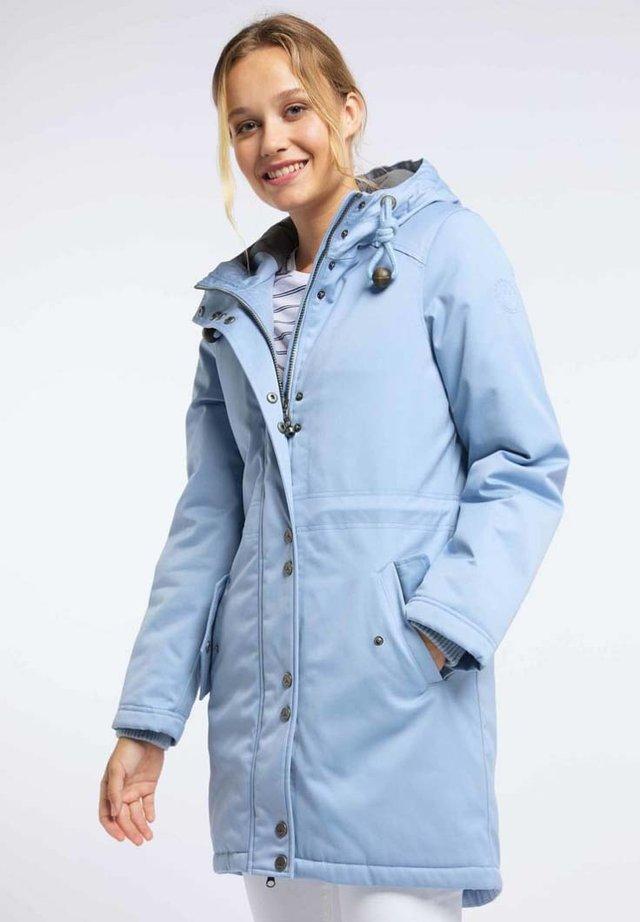 Płaszcz zimowy - smoke blue