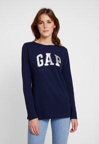 GAP - ARCH TEE - Langærmede T-shirts - navy uniform - 0
