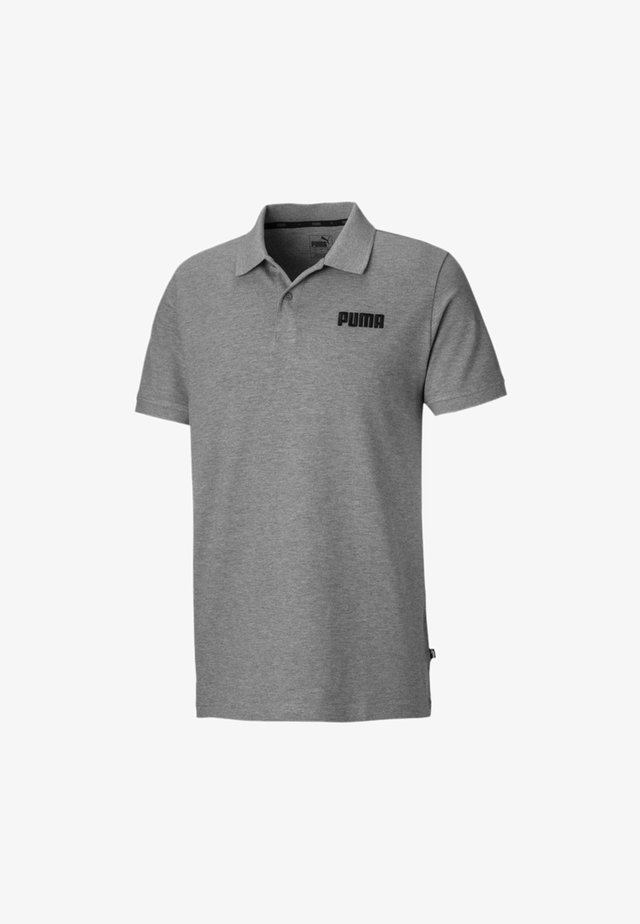 ESSENTIALS - Polo - medium gray heather