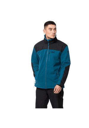 Fleece jacket - dark cobalt