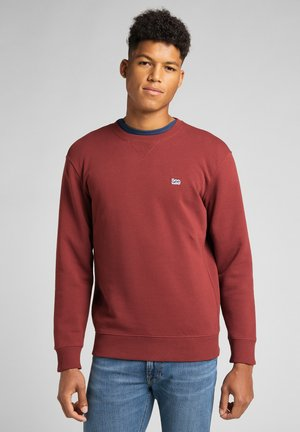 PLAIN SWS - Sweatshirt - fired brick
