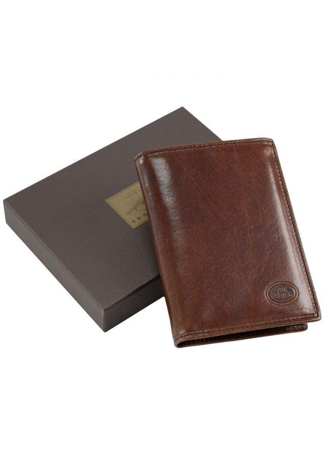 STORY UOMO (9,5 cm) - Wallet - marrone