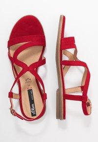 s.Oliver BLACK LABEL - Sandals - red - 3