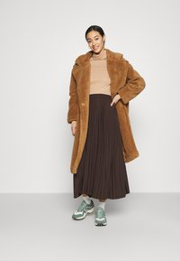 New Look - ROLL NECK - Long sleeved top - camel - 1