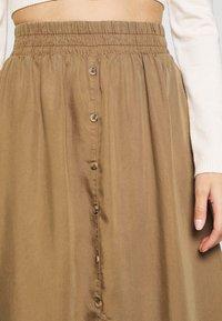 Pieces Petite - LIV SKIRT PETIT - A-line skirt - kangaroo - 4