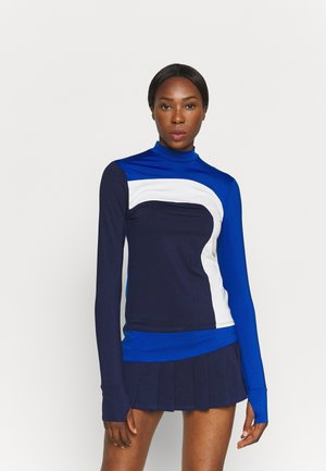 OFF TO THE RACES LONG SLEEVE - Topper langermet - electric blue combo