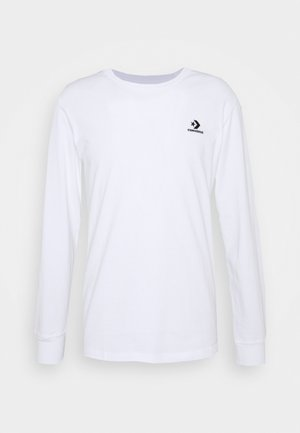 MENS STAR CHEVRON LEFT CHEST LONG SLEEVE  - Maglietta a manica lunga - white