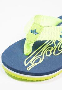 LICO - FLAMENCO - T-bar sandals - marine/lemon - 5
