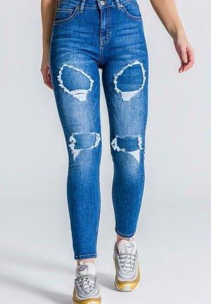 RR REPAIR - Jeans Skinny Fit - medium blue