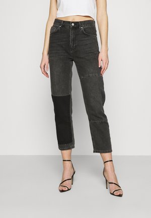 STRAIGHT LEG PANEL  - Jeans straight leg - antracite
