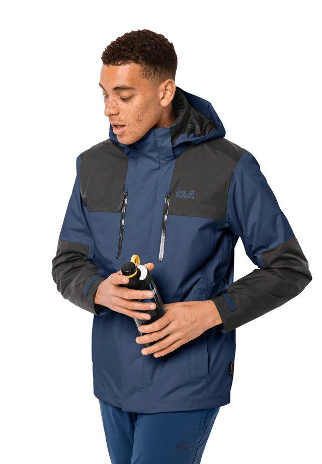 Hardshell jacket - dark indigo