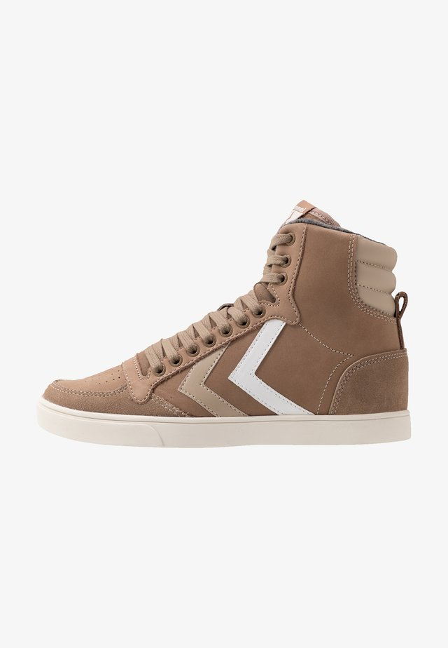 SLIMMER STADIL DUO - Sneakersy wysokie - taupe grey