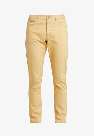 FLEX 5 POCKET PANT - Kalhoty - club gold/wolf grey