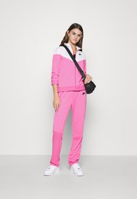 Nike Sportswear - TRACK SUIT SET - Tracksuit - pinksicle/white/black - 1