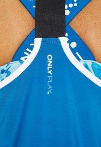 ONLY Play - ONPAMBRE TRAINING - Camiseta de deporte - imperial blue/white/black - 5