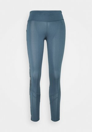 OWN THE RUN - Tights - legblu/hazcor