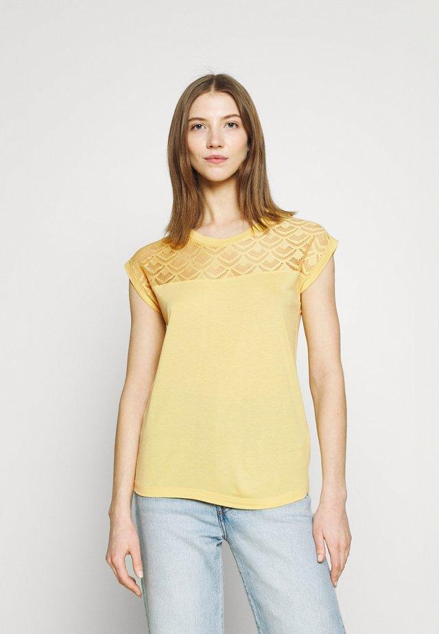 ONLNICOLE LIFE MIX - T-shirt con stampa - jojoba
