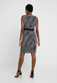 Esprit Collection - PRINTED PLISSE - Shift dress - black - 3