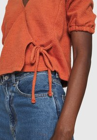 Madewell - PANETONNE  - Print T-shirt - afterglow red - 5