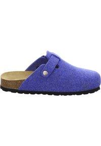 AFS Schuhe - FILZHAUSSCHUH - Slippers - blau - 4