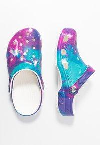 Crocs - Sandalias planas - white/purple - 3