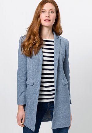Short coat - fresh blue melange